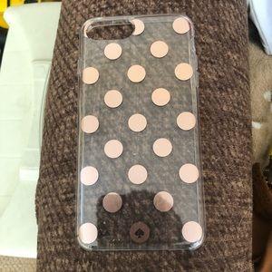 Kate spade phone case Iphone 6plus,7plus,& 8 Plus